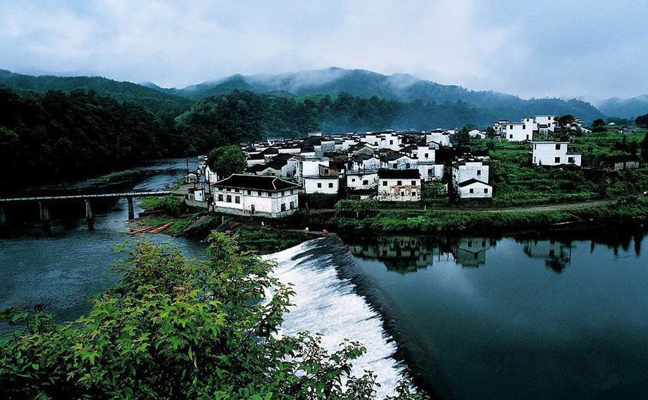 中国最圆的古村落-菊径村