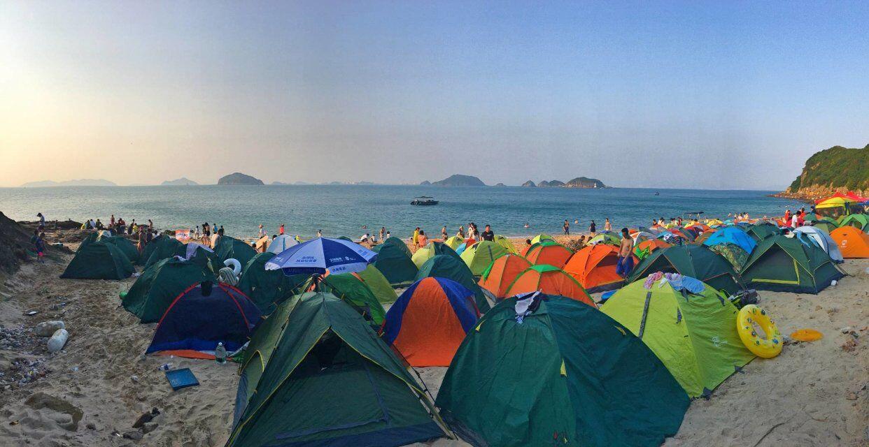 【4月21日】白沙洲岛荒岛求生-2天1夜露营