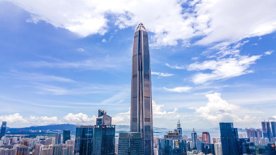 深圳平安金融中心摩天大楼建筑群(企业商用)
